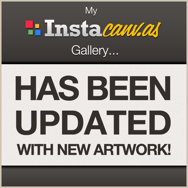 My Instacanv.as gallery has been updated with new artwork